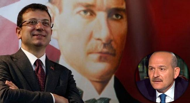 İBB Başkanı Ekrem İmamoğlu'ndan Bakan Soylu hakkında suç duyurusu