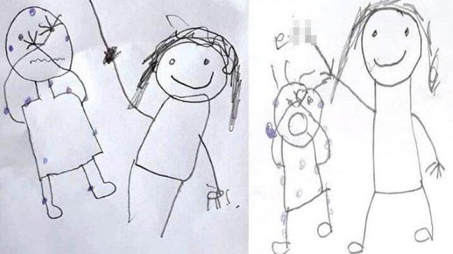 İki kardeş cinsel istismarı çizerek anlatmıştı… Bakanlık açıklama yaptı