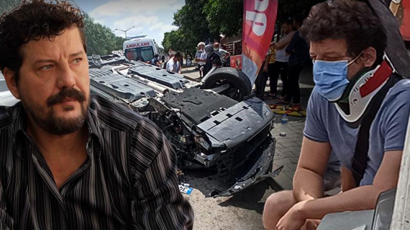 İlker Aksum, Adana'da otomobiliyle takla attı
