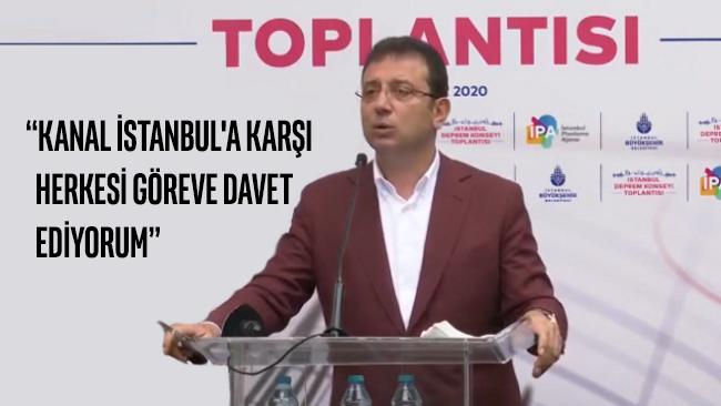 İmamoğlu'ndan çarpıcı açıklama: Depremden sonra en büyük tehdit Kanal İstanbul!