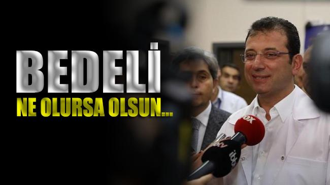 İmamoğlu'ndan ihale açıklaması: 'Bedeli ne olursa olsun orası İstanbul halkının olacak'