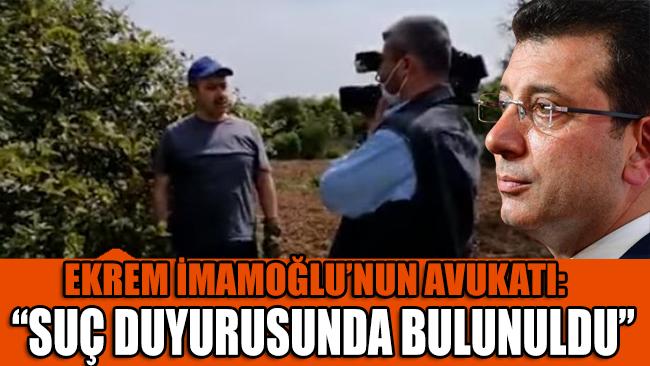 İmamoğlu'nun avukatı: Suç duyurusunda bulunuldu!