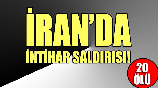 İran'da devrim muhafızlarını taşıyan otobüse canlı bomba saldırısı: 20 ölü