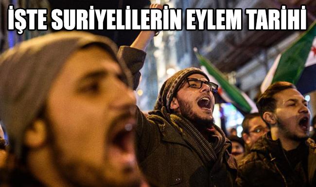 İstanbul'da yaşayan Suriyelilerin eylem tarihi belli oldu