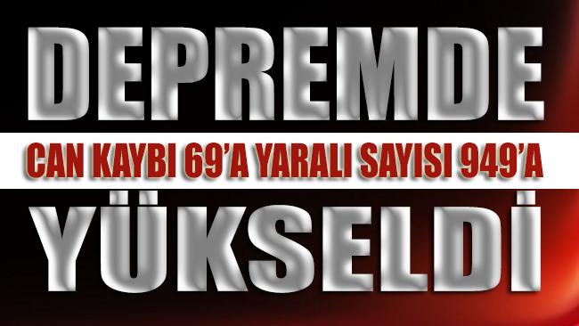 İzmir depreminde ölü sayısı 69'a çıktı