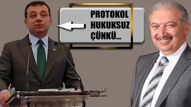 Kanal İstanbul polemiği sürüyor! Ekrem İmamoğlu: Protokol hukuksuz çünkü…