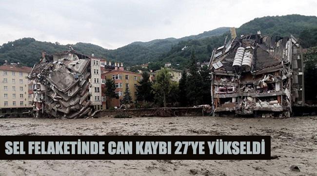 Karadeniz'deki sel felaketinde can kaybı 27'ye yükseldi