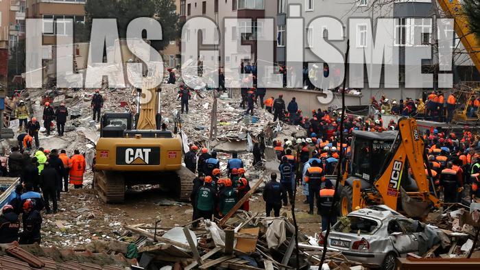 Kartal'da çöken bina soruşturmasına ilişkin 3 gözaltı