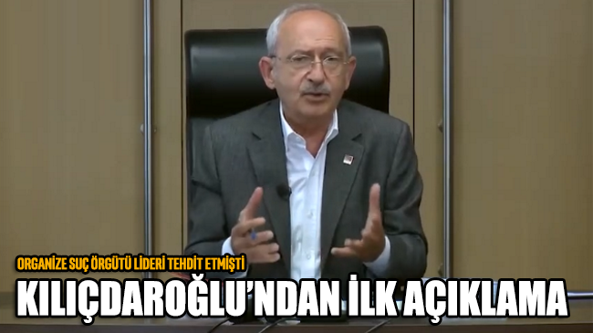Kemal Kılıçdaroğlu Çakıcı'nın sözleri hakkında ilk kez konuştu