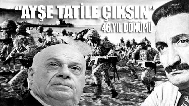 Kıbrıs Barış Harekatı'nın 46. yıl dönümü...