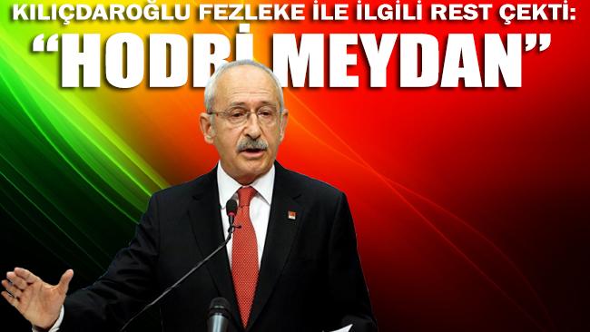 Kılıçdaroğlu, dokunulmazlık fezlekesi ile ilgili restini çekti: