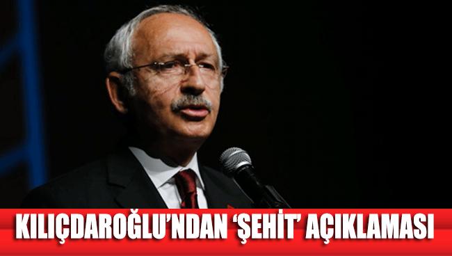 Kılıçdaroğlu: Suriye ve Hakkari'den gelen acı haberlerle yüreğimiz yandı