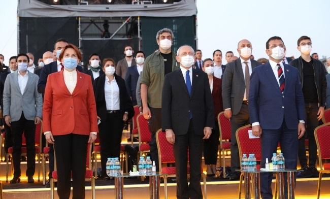 Kılıçdaroğlu ve Akşener fetih kutlamasında bir araya geldi