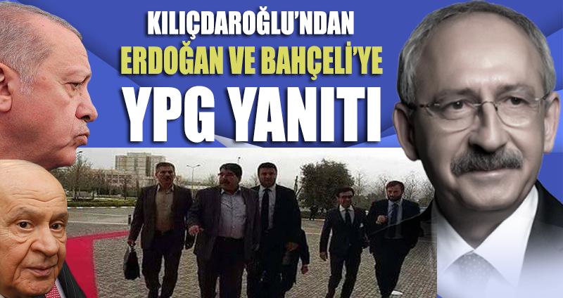 Kılıçdaroğlu'ndan Erdoğan ve Bahçeli'ye YPG yanıtı
