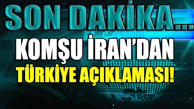 Komşudan flaş Türkiye açıklaması!