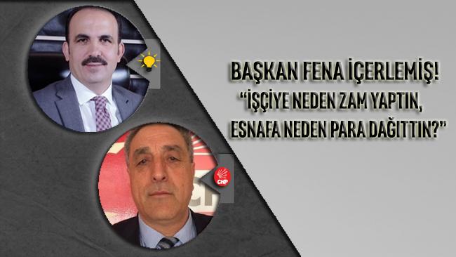 Konya Büyükşehir Belediye Başkanı: İşçiye neden zam yaptın esnafa niye para dağıttın?