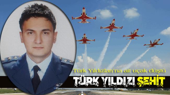 Konya'da Türk Yıldızları'na ait uçak düştü: Bir pilot şehit