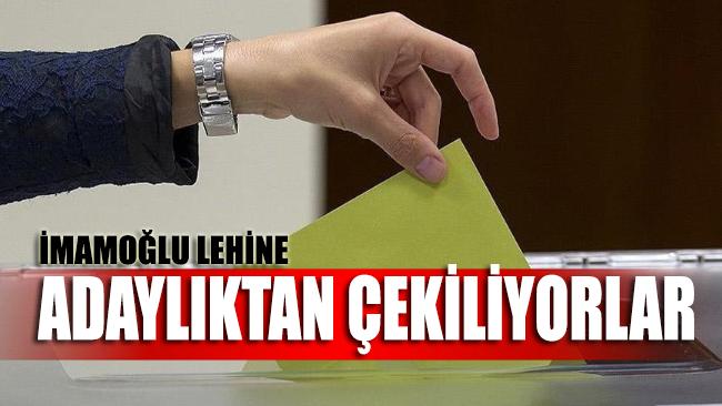 Kuvayi Milliye ruhu İstanbul'da tekerrür ediyor: İmamoğlu lehine yarıştan çekiliyorlar!
