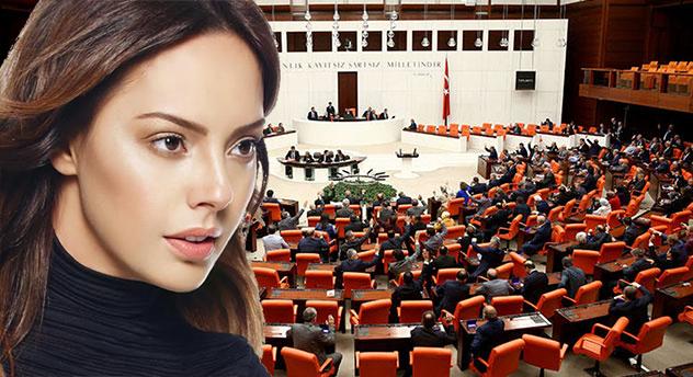 Meclis'te Ebru Gündeş'li VİP tartışması yaşandı