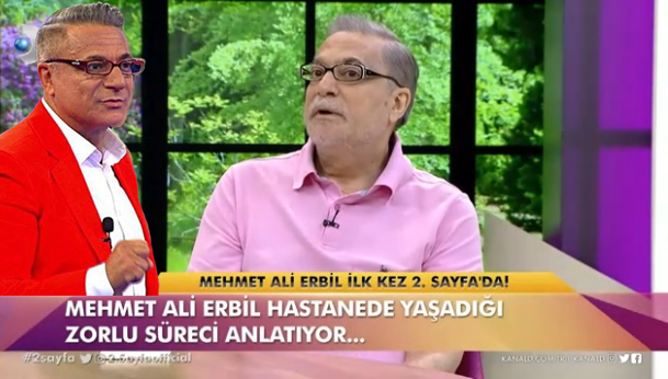 Mehmet Ali Erbil canlı yayında gözyaşını tutamadı: