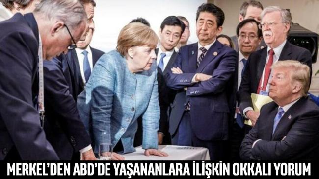 Merkel'den okkalı yorum: Çok öfkelendim