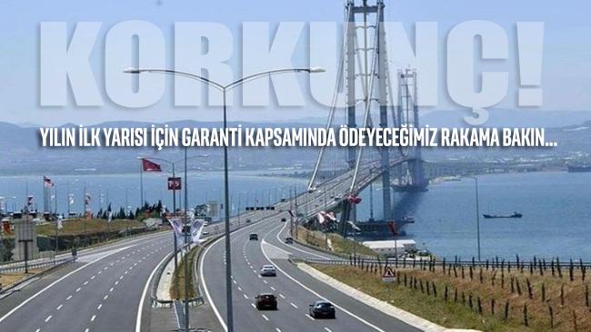 Osmangazi Köprüsü'nden 'geçilmediği için' 1 milyar 750 milyon TL ödenecek