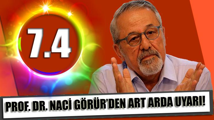 Prof. Dr. Naci Görür'den art arda paylaşımlar!