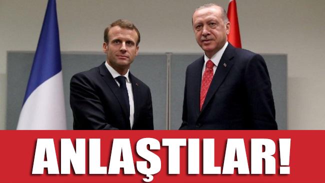 Reuters: Erdoğan ve Macron anlaştı