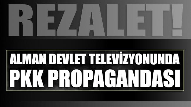 Rezalet: Alman devlet televizyonu PKK propagandası yaptı
