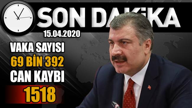 Sağlık Bakanı Fahrettin Koca, günlük verileri paylaştı!