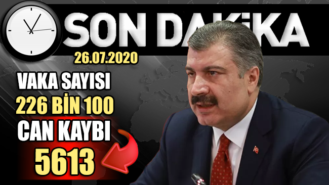 Sağlık Bakanı Koca, güncel can kaybı ve vaka sayısını açıkladı!