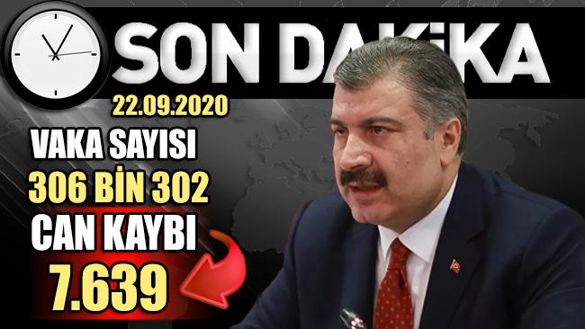 Sağlık Bakanlığı, Türkiye'nin günlük corona virüsü verilerini açıkladı!