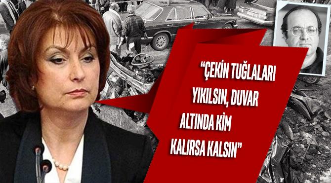 Sedat Peker'in 'Uğur Mumcu suikastı' iddialarına Güldal Mumcu'dan ilk yanıt