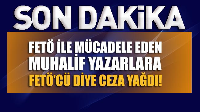Tartışma yaratan karar!.. Muhalif gazetecilere FETÖ/PYD'ye yardımdan hapis cezası!