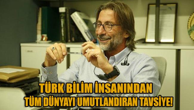 Türk bilim insanından etkili corona ilacı tavsiyesi!