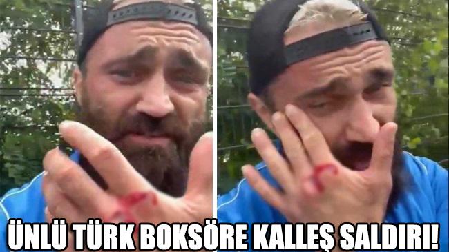 Türk boksör Ünsal Arık'a Almanya'da kalleş saldırı