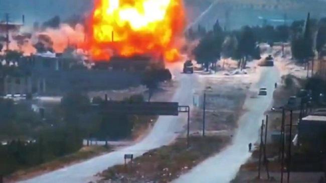 Türk-Rus ortak devriyesine bombalı saldırı düzenlendi!