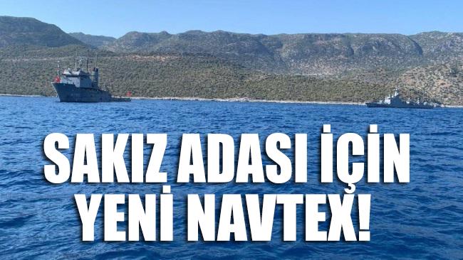 Türkiye yeni bir NAVTEX daha ilan etti!