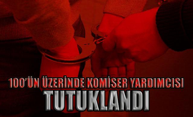 Uzunkaya: 100'ün üzerinde komiser yardımcısı FETÖ'den tutuklandı