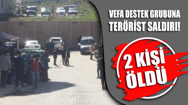 Van'da Vefa Destek Grubuna alçak saldırı: İki kişi öldü