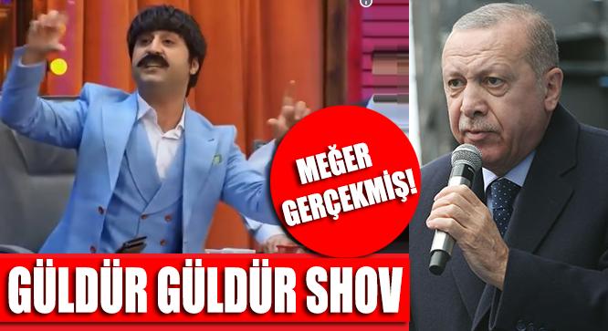 Yandaş Medyanın Tepki Gösterdiği Güldür Güldür Show 192 Bölüm Meğer