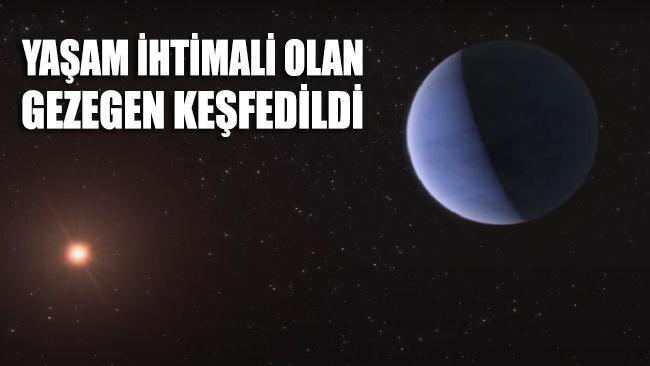 Yaşam ihtimali olan gezegen keşfedildi