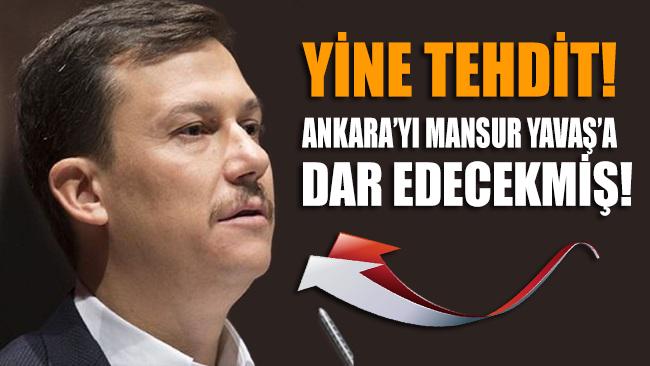 YİNE TEHDİT!.. AKP Genel Sekteri Şahin'den Mansur Yavaş'a: Ankara'yı sana dar ederiz