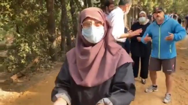 AKP'li Üsküdar Belediyesi'nin Validebağ Korusu operasyonuna direnirken darp edilen 63 yaşındaki kadın isyan etti: Hayatımda hiç dayak yememiştim
