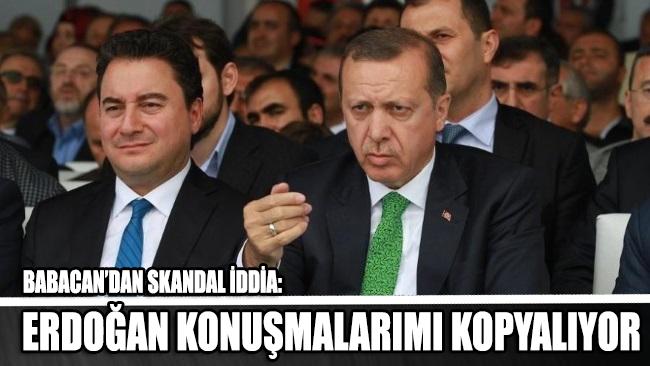 Ali Babacan'dan skandal iddia: Erdoğan konuşmalarımı kopyalıyor