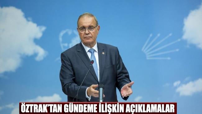 CHP Sözcüsü Faik Öztrak: Günahları o kadar çok ki…