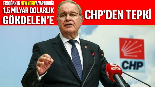 Erdoğan'ın ABD'de 1,5 milyar dolara yaptırdığı 'gökdelen' ile ilgili CHP'den tepki geldi