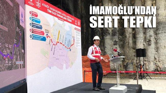 İmamoğlu'ndan Kanal İstanbul tepkisi: Bin kat daha fazla ihanettir