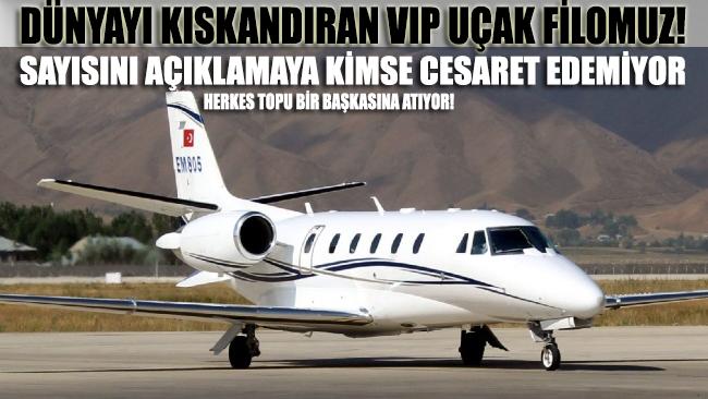 İtibarın insan yapısı araçları: İşte dünyayı kıskandıran VIP uçak filomuz