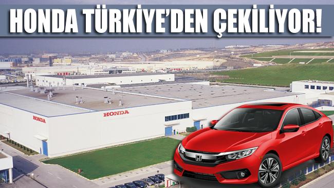 Japon devi Honda Türkiye'deki üretimini durduruyor!